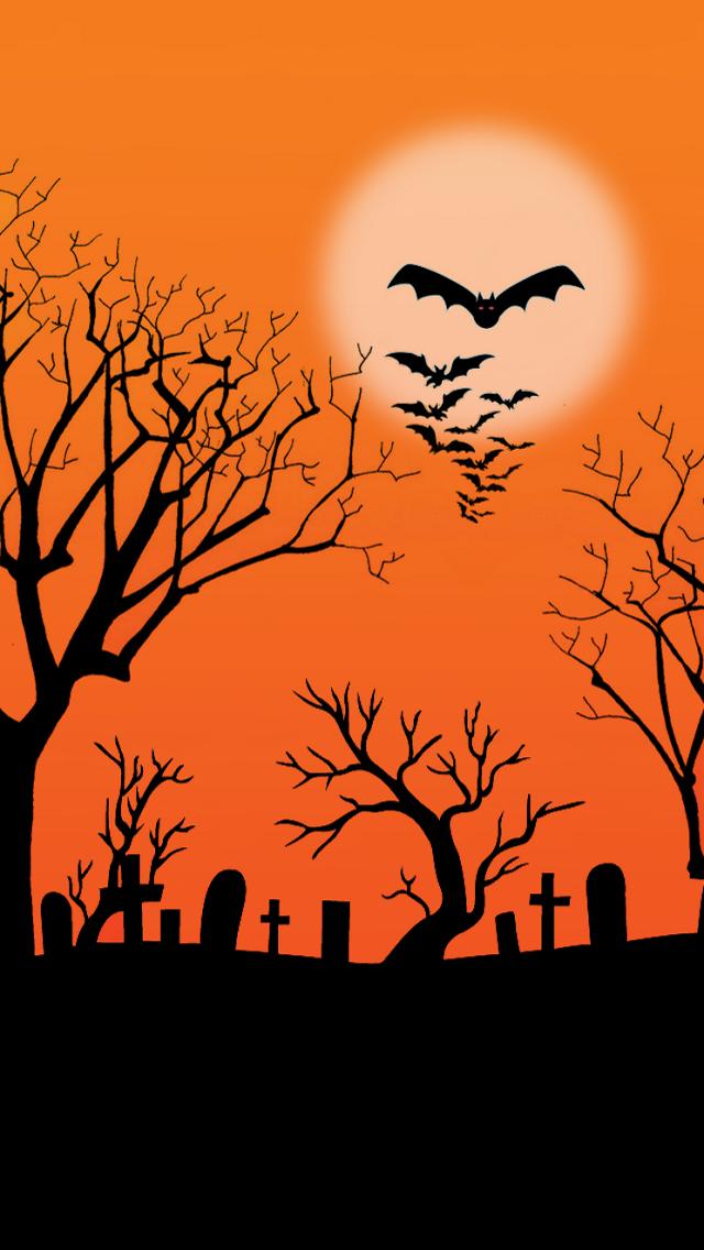 halloween background iphone wallpaper tags background bat halloween 640x1136