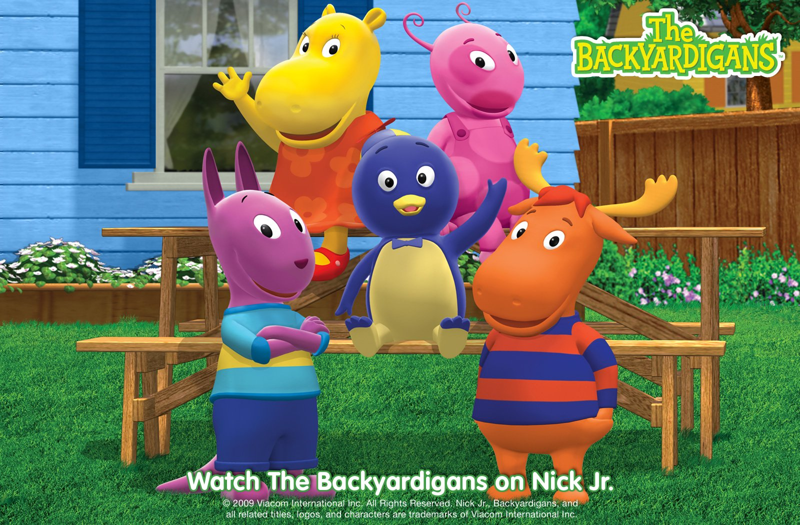 Backyardigans Coloring Pages To Print - Coloring Home | 1050x1600