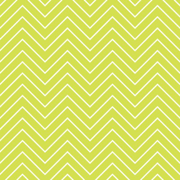 Lime Zig zag wallpaper 600x600