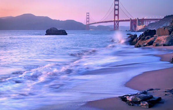 Golden Gate Bridge LG WallpapersBackgroundThemeAppsGames and 596x380