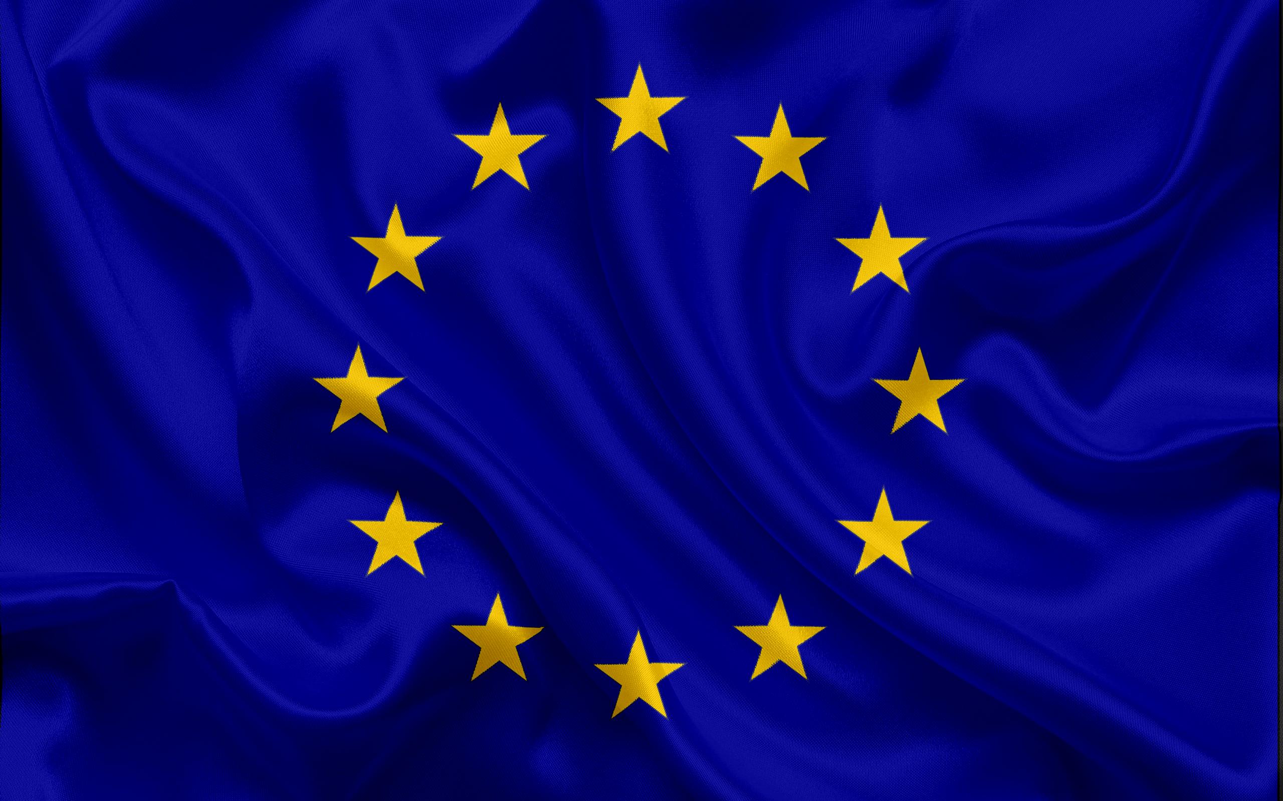 Download wallpapers flag of European Union EU Europe European 2560x1600