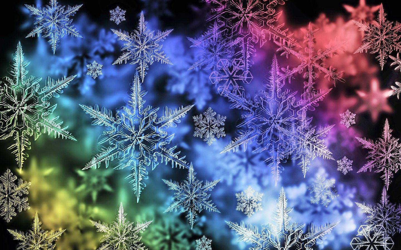 Colorful Snowflake Desktop Wallpaper computer geek am I in 2019 1440x900