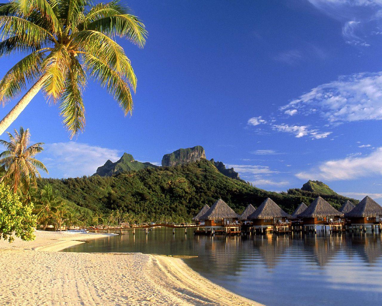 wallpaper de Playas de Bora Bora a 1280x1024 Fotos e imagenes de 1280x1024