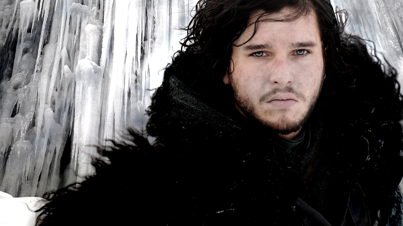 Jhon Snow   Game of Thrones Wallpaper 1366x768 42825 1366x768