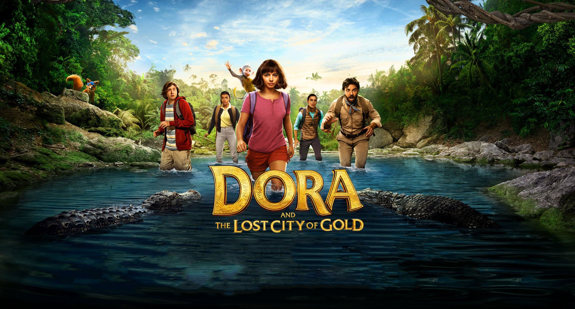 Dora And The Lost City Of Gold 2019 Wallpaper HD Movies 4K 2000x1076