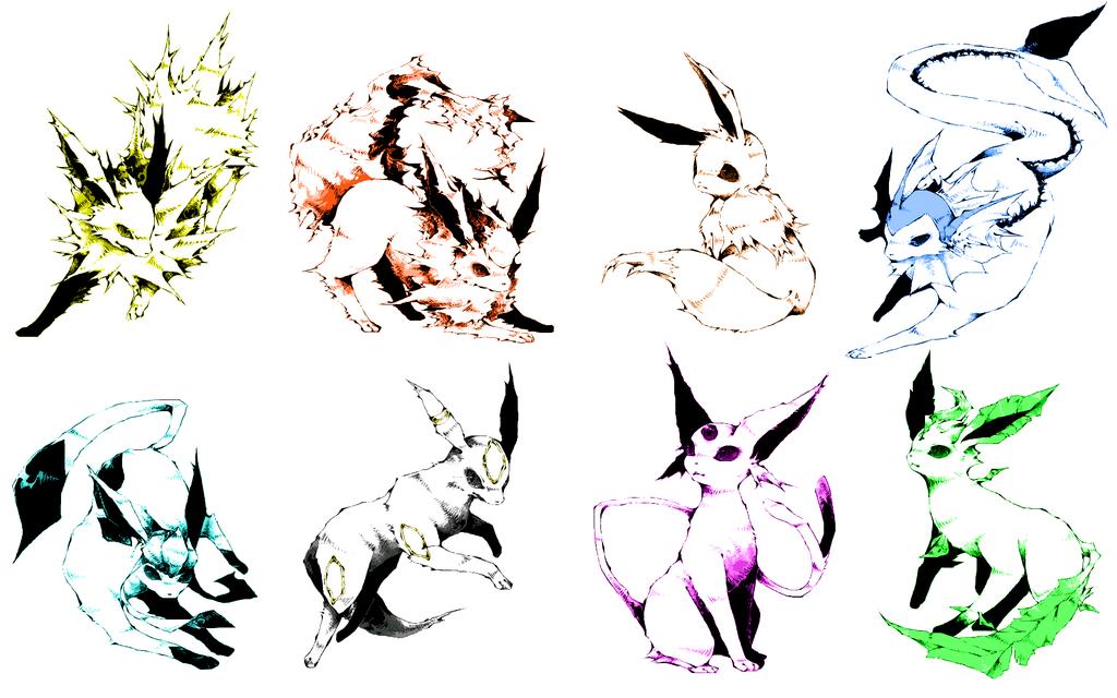 pokemon eevee simple background HD Wallpapers by Nekeon 1024x640