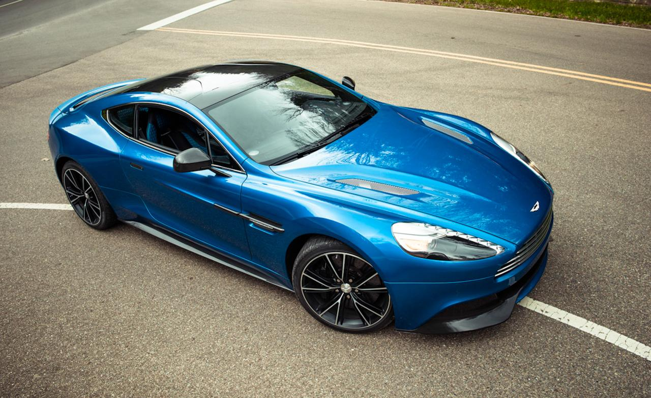 2013 blue aston martin vanquish wallpaper Vehicle Pictures 1280x782