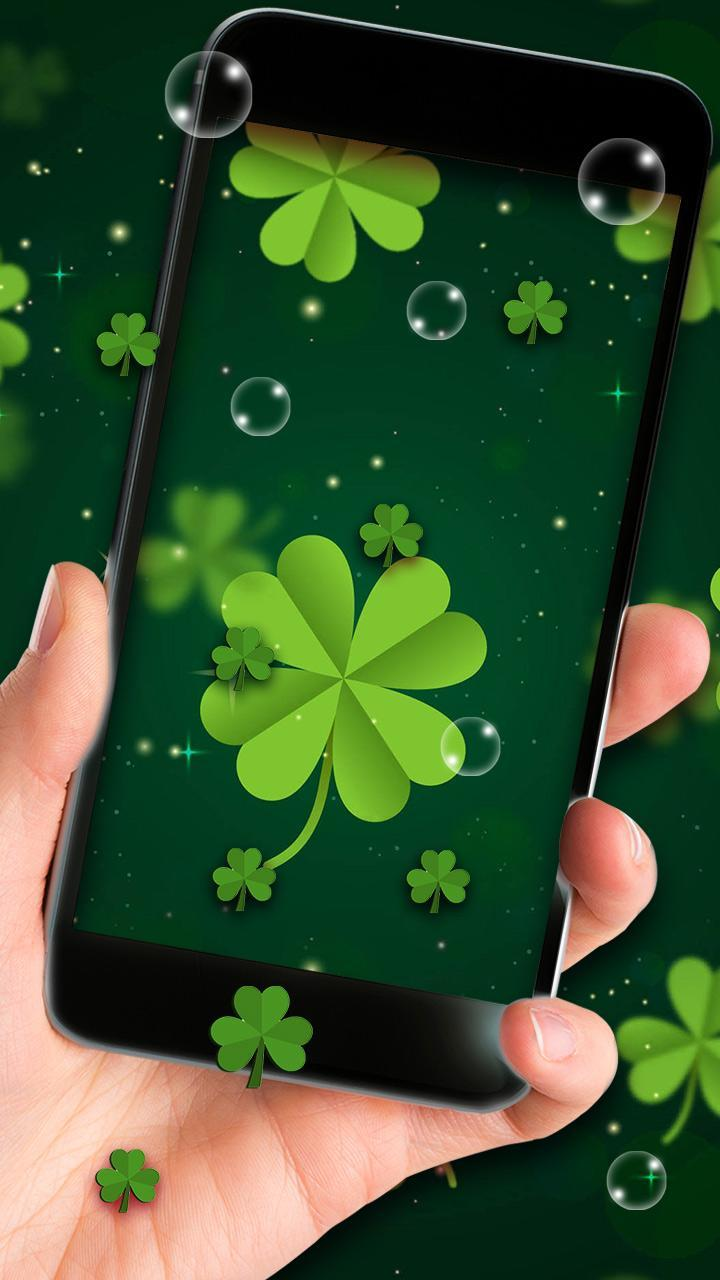 Four Leaf Clover live wallpaper for Android   APK Download 720x1280