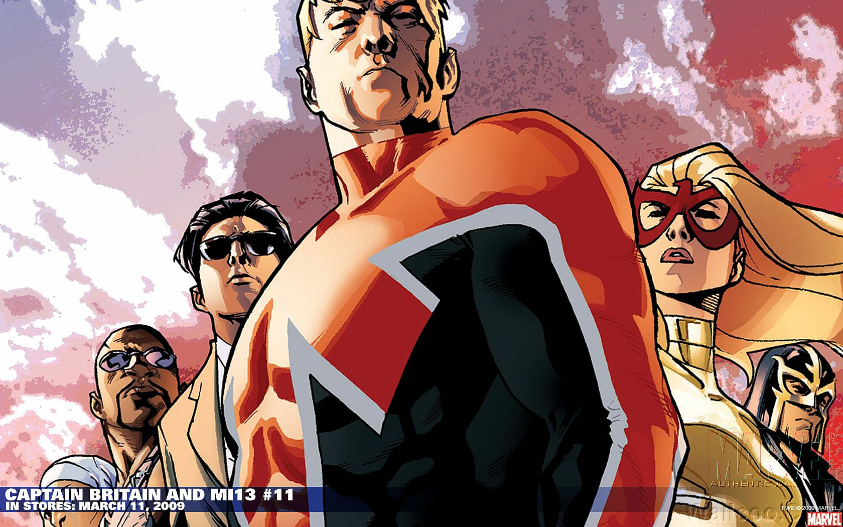 Captain Britain and Mi13 11   Marvel Comics Wallpaper 13 1680x1050