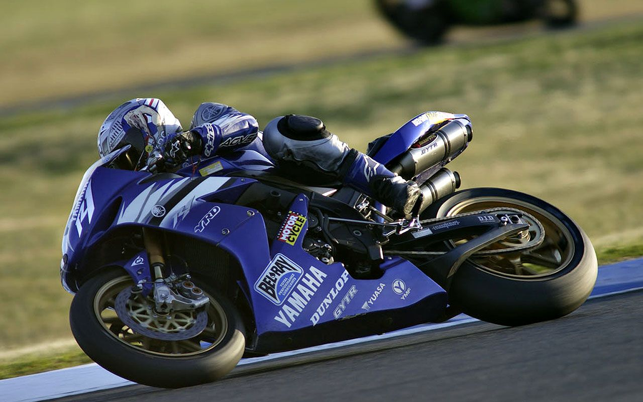 Yamaha R1 Blue 20776 Hd Wallpapers in Bikes   Imagescicom 1280x800