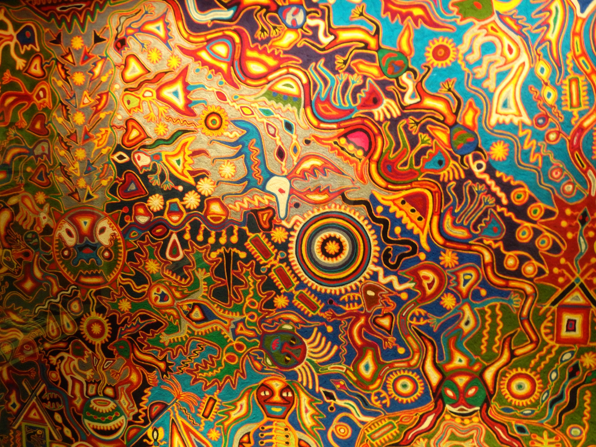 An Introduction to Indigenous Huichol Art in 15 Stunning Artworks 2048x1536