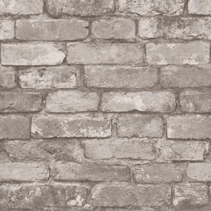 Fine Decor Rustic Brick Wallpaper in Natural Stone   FD31286 800x800