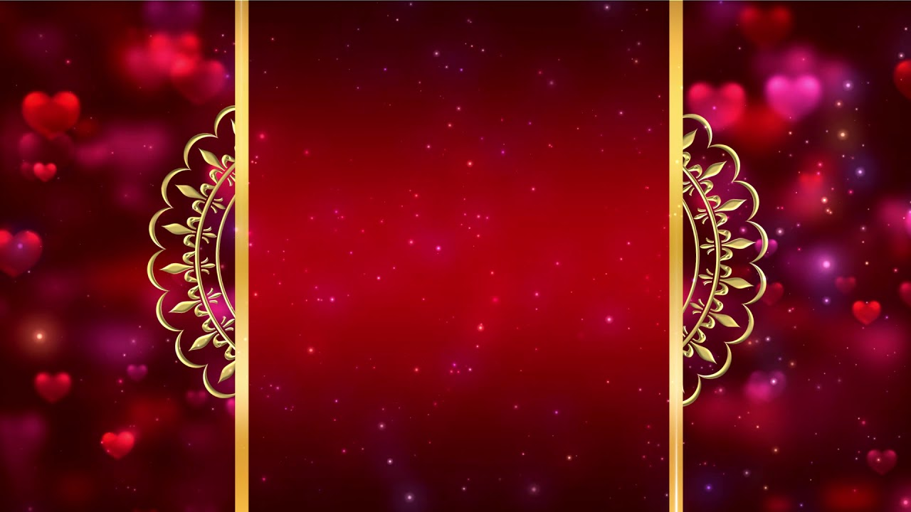 Royal Intro Title Wedding Invitation Background Video Effects HD 1280x720