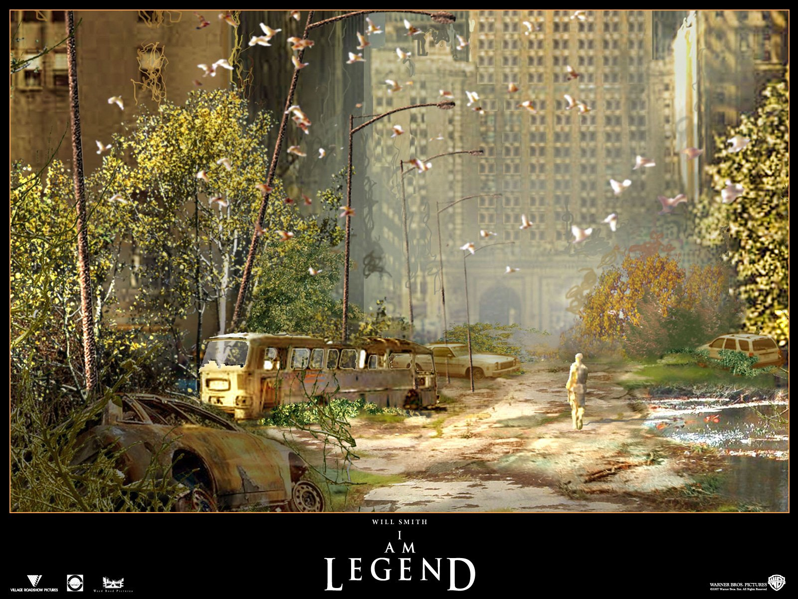 Am Legend 2007 wallpaper   FreeMovieWallpapersorg 1600x1200