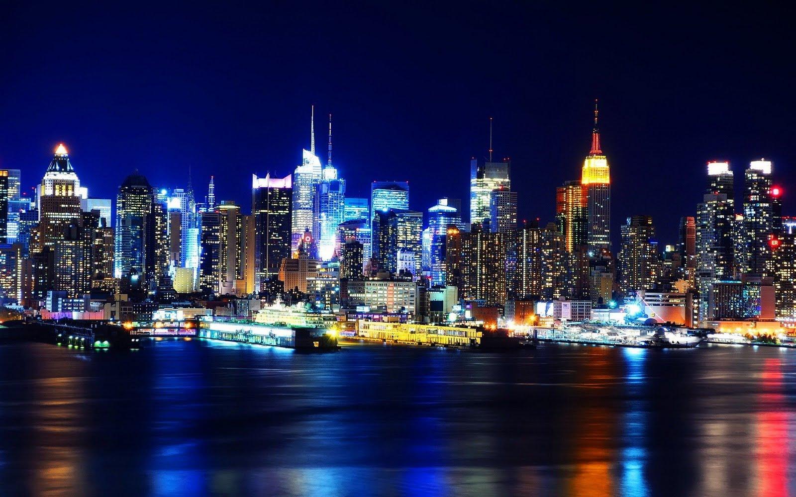 york wallpaper new york night wallpaper new york city wallpaper 1600x1000