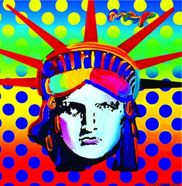 Peter Max oh so graphic 600x613