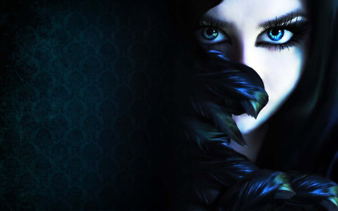 Midnight Raven Wallpaper by phiberphreak 1131x707