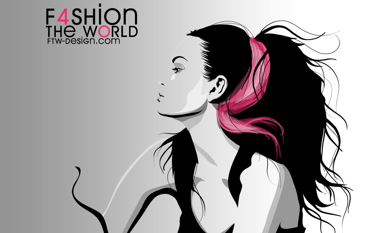 High fashion wallpaper wallpapersafari for Fashion style wallpaper