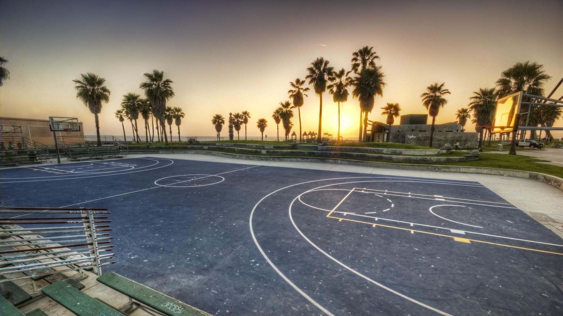 los angeles california sunset stadium sports usa Full HD 1080p HD 1920x1080