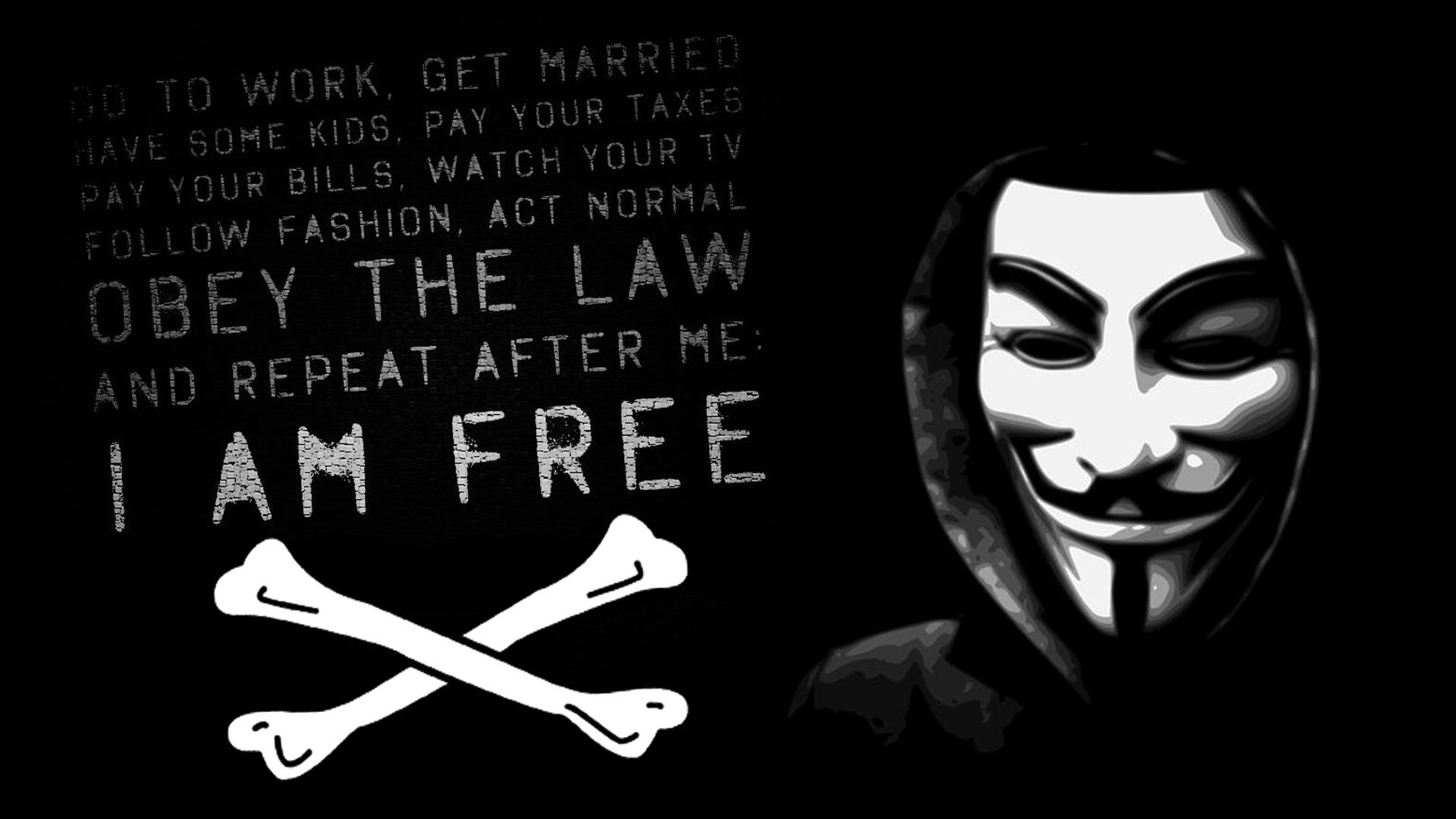 Anonymous Wallpaper 19201080 23952 HD Wallpaper Res 1920x1080 1920x1080