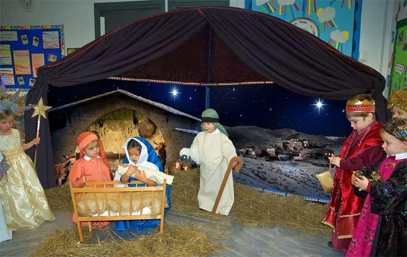 Christmas Nativity Backgrounds Wallpapersafari