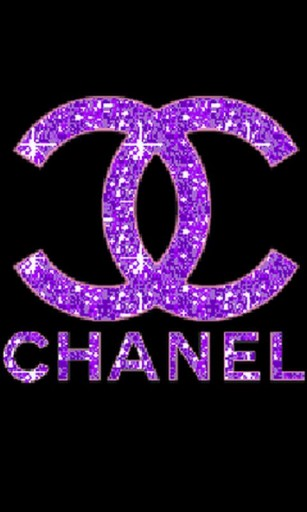 View bigger   Glitter Chanel Live WallPaper for Android screenshot 307x512