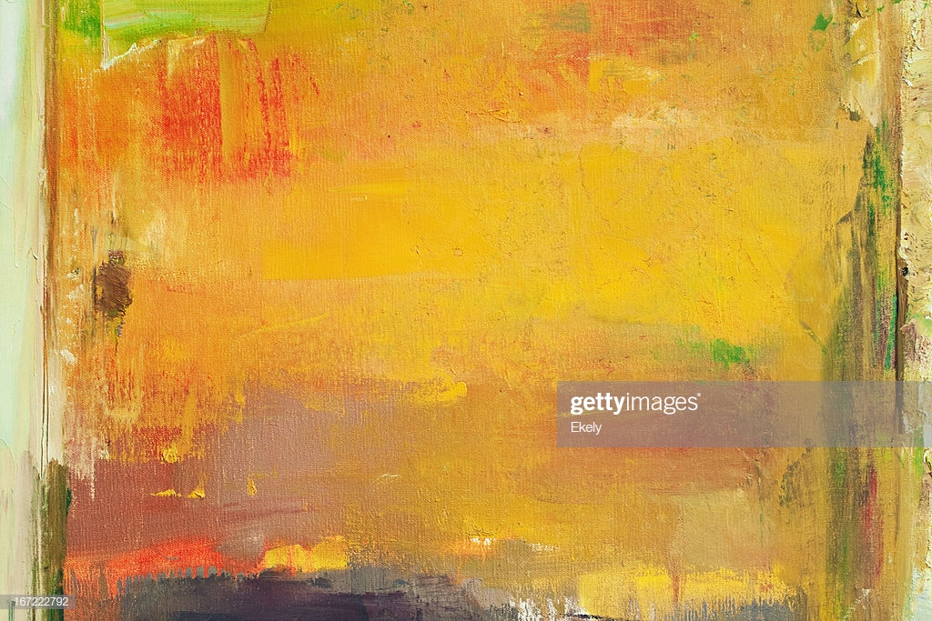Abstract Painted Orange And Green Art Backgrounds Stock Photo 1024x683