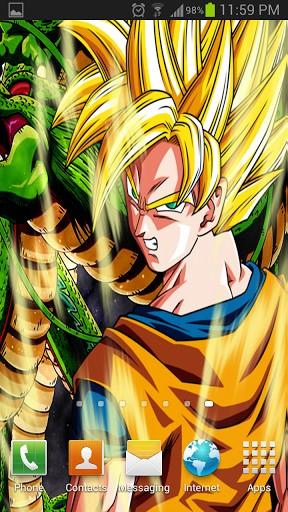 Goku Live Wallpaper Wallpapersafari