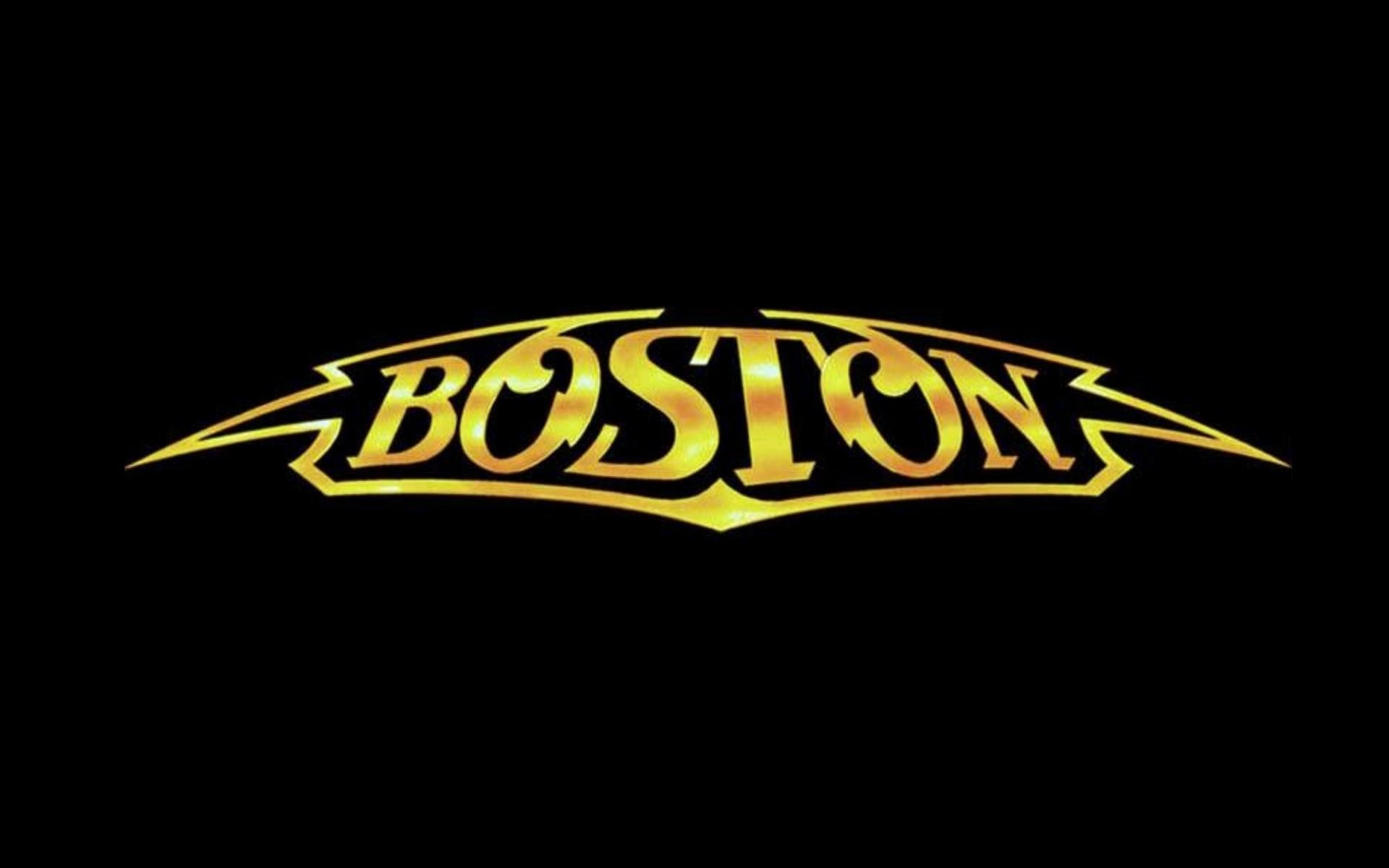 Wallpaper boston logo classic rock desktop wallpaper Music 1920x1200