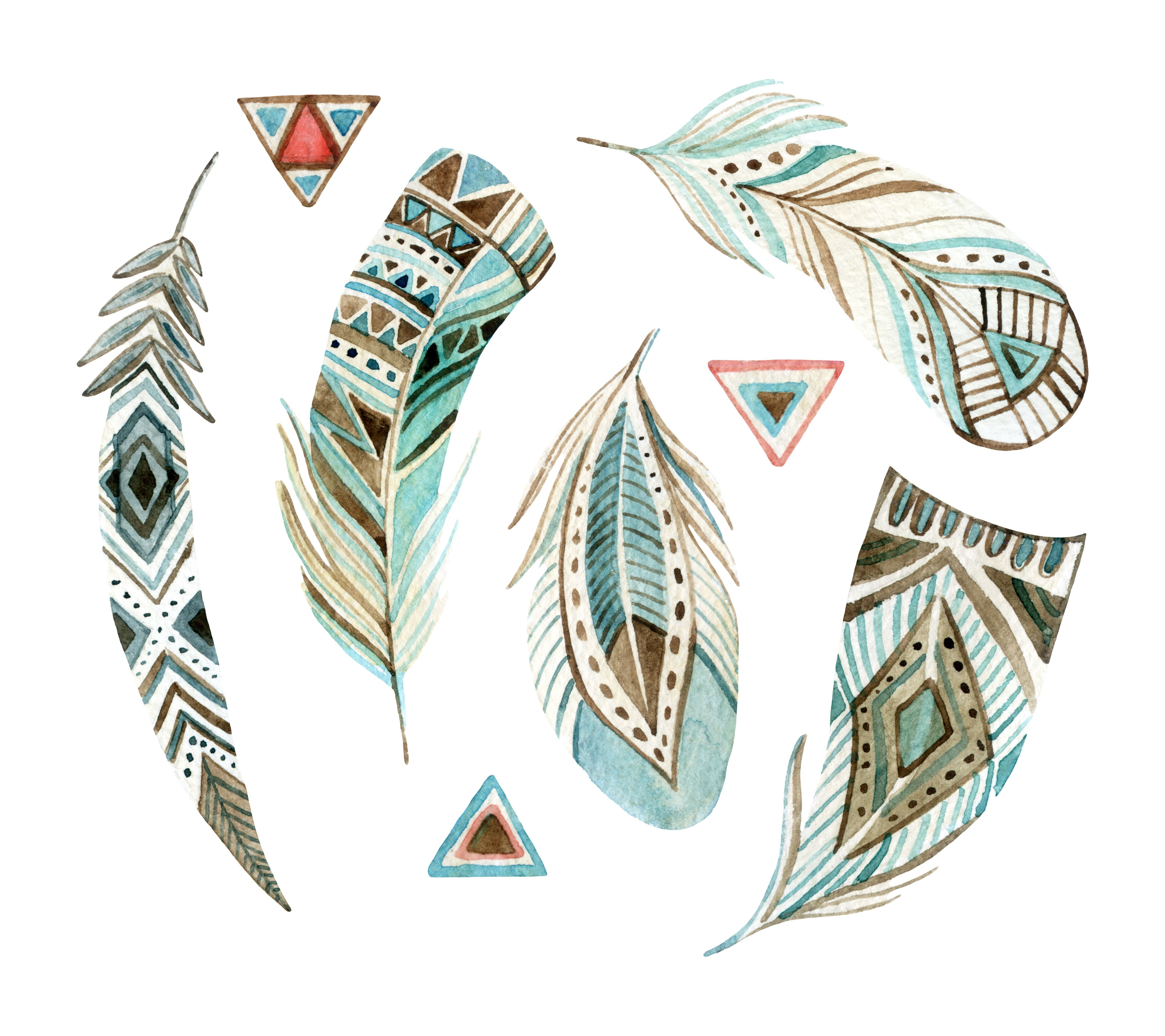 35 Feathers Watercolor Wallpapers   Download at WallpaperBro 4500x4000