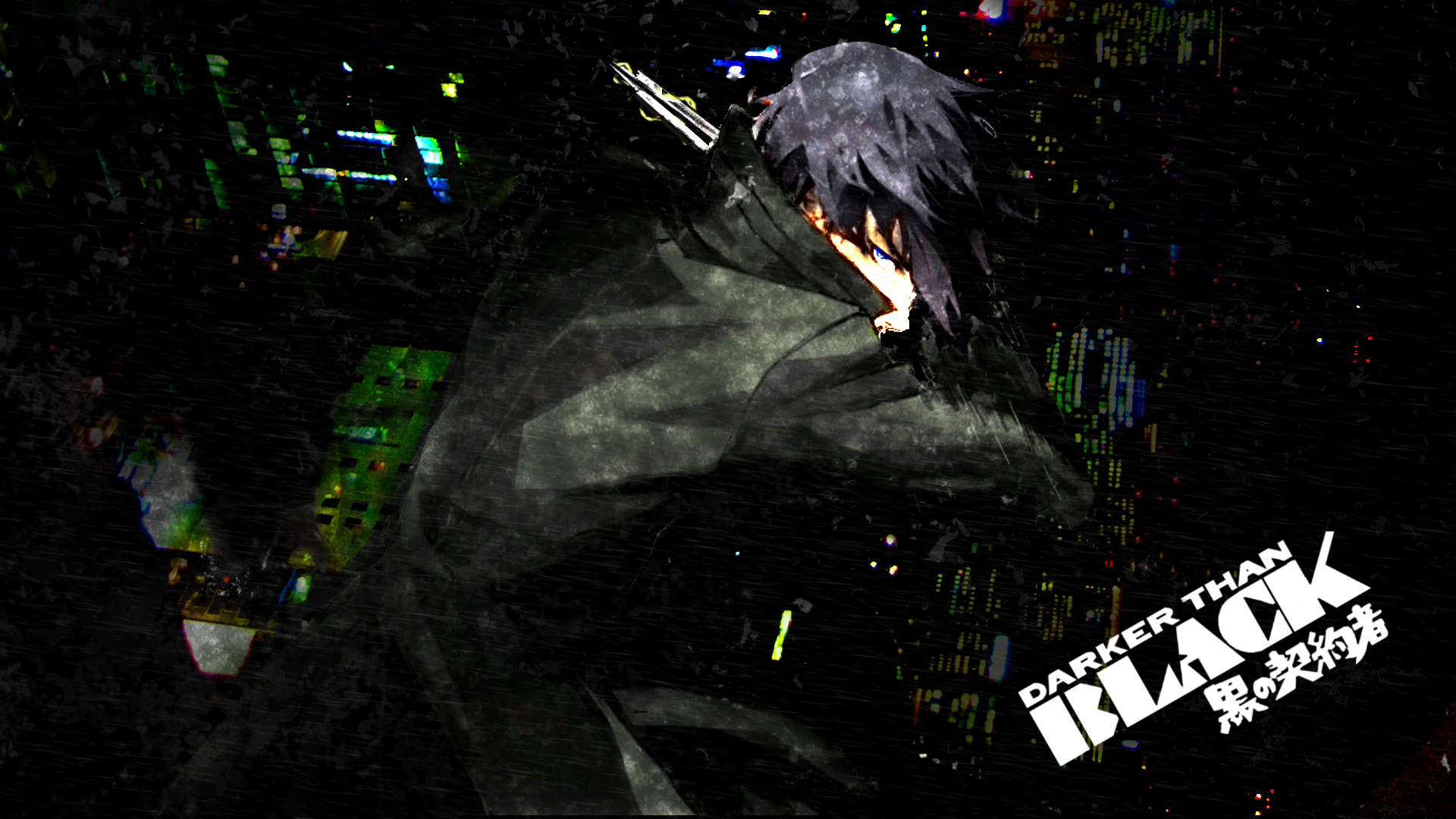 Free Download Wallpaper Featuring Hei From Darker Than Black