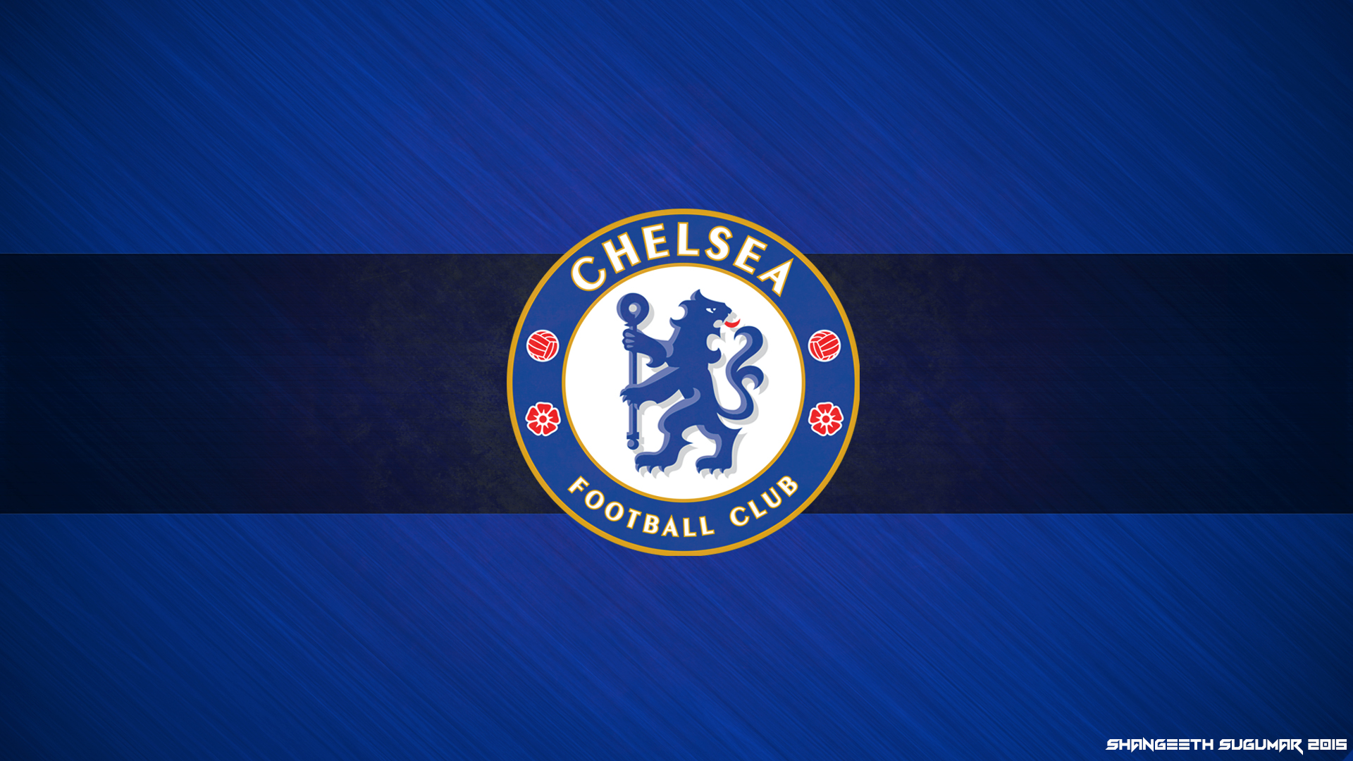 Chelsea FC 2015 Wallpaper   By Shangeeth Sugumar by 1920x1080