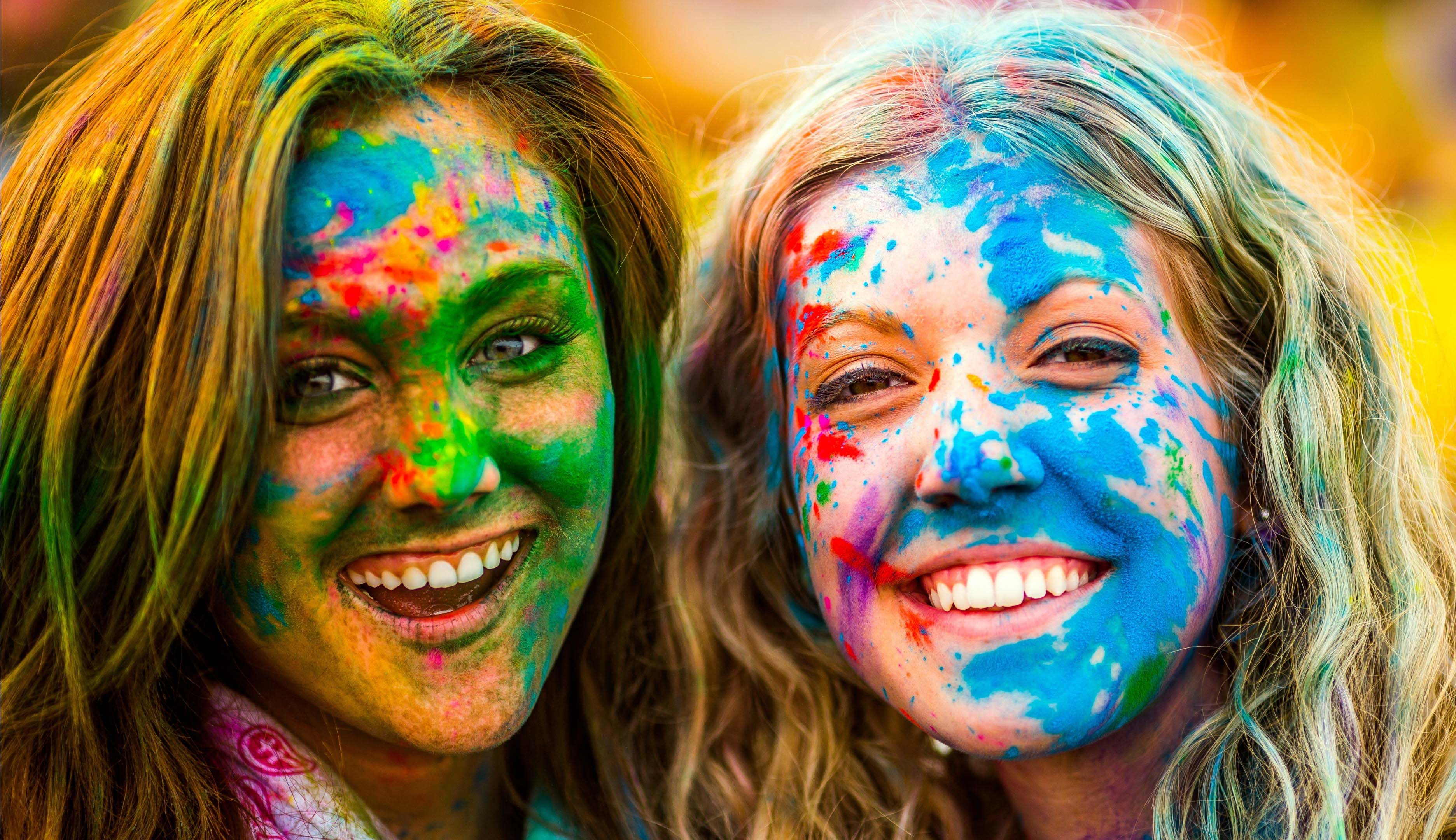 Holi Festival Latest Pictures Wallpapers Ultra HD 4K 3744x2160
