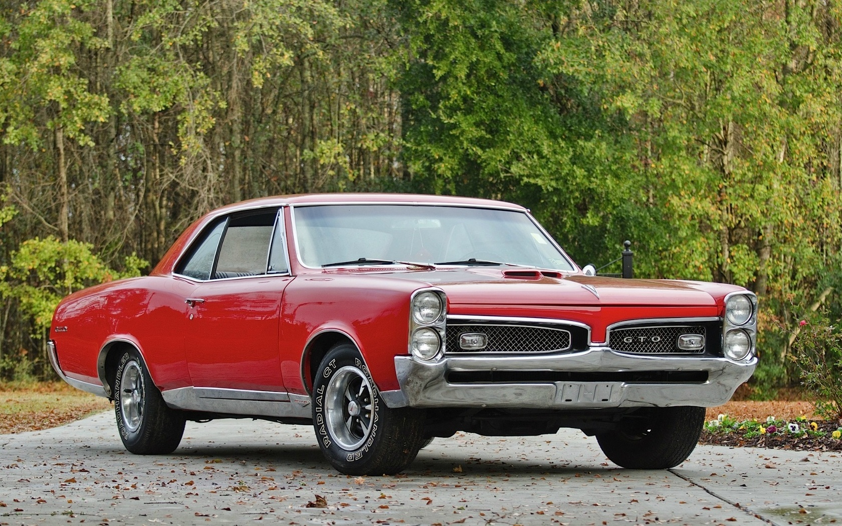 Vehicles   1967 Pontiac Gto Wallpaper 1680x1050