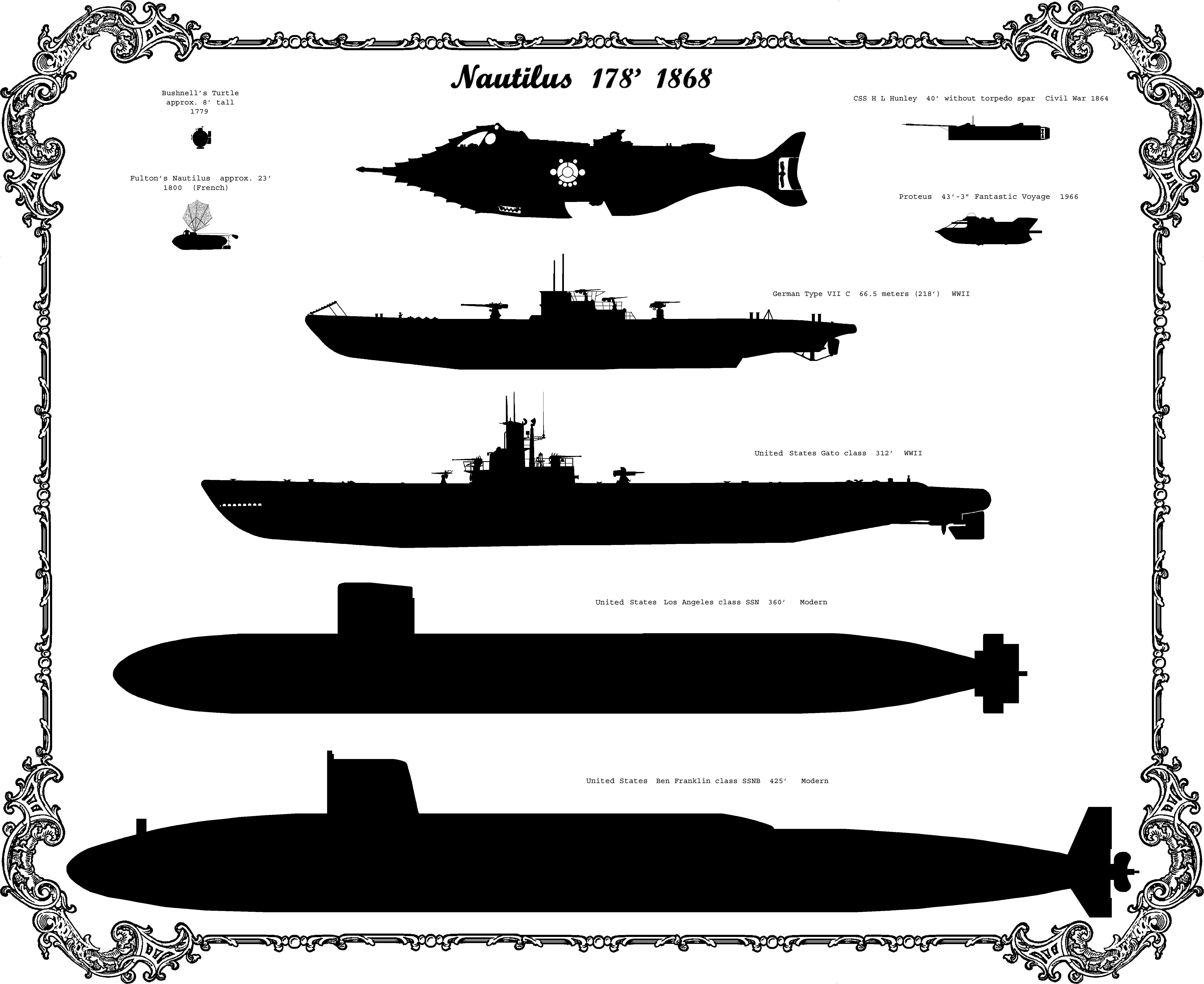 Disney Nautilus Submarine Wallpaper Wallpapersafari