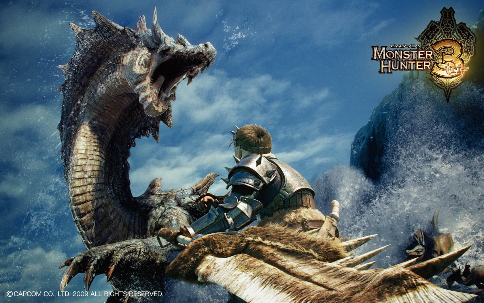 Free Download Monster Hunter Wallpaper 1680x1050 Monster Hunter 3