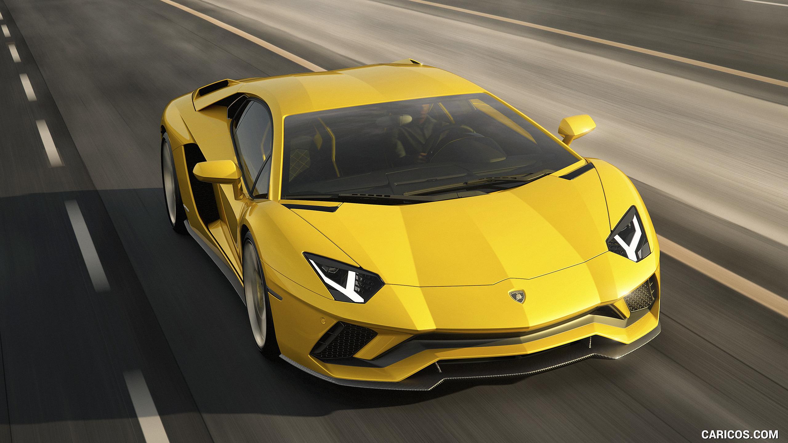 2017 Lamborghini Aventador S   Front HD Wallpaper 6 2560x1440