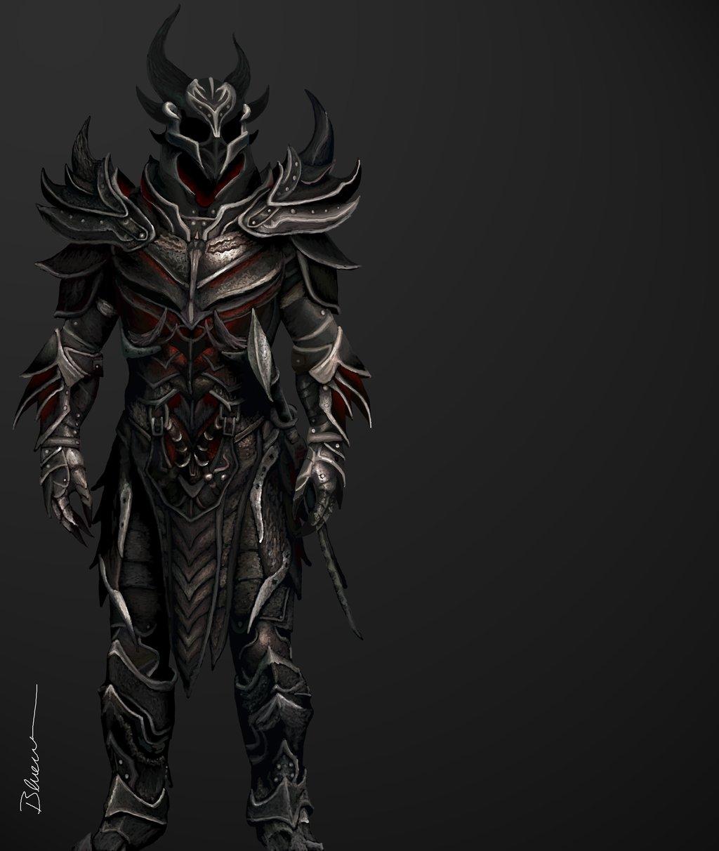 Daedric Armor Skyrim by Blueraven90 1024x1212