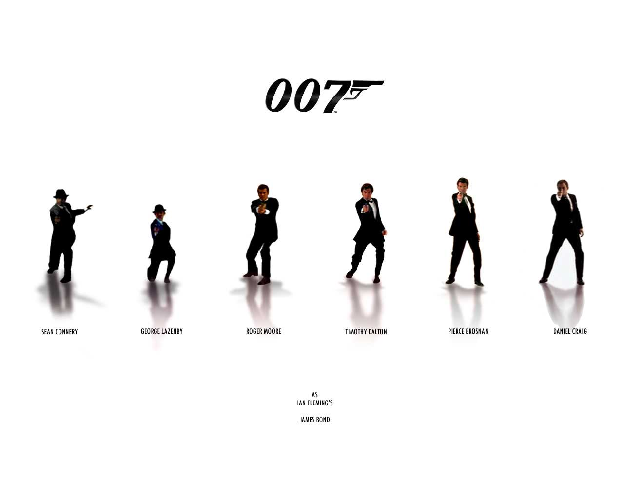 James Bond 007 Wallpaper 1280x1024