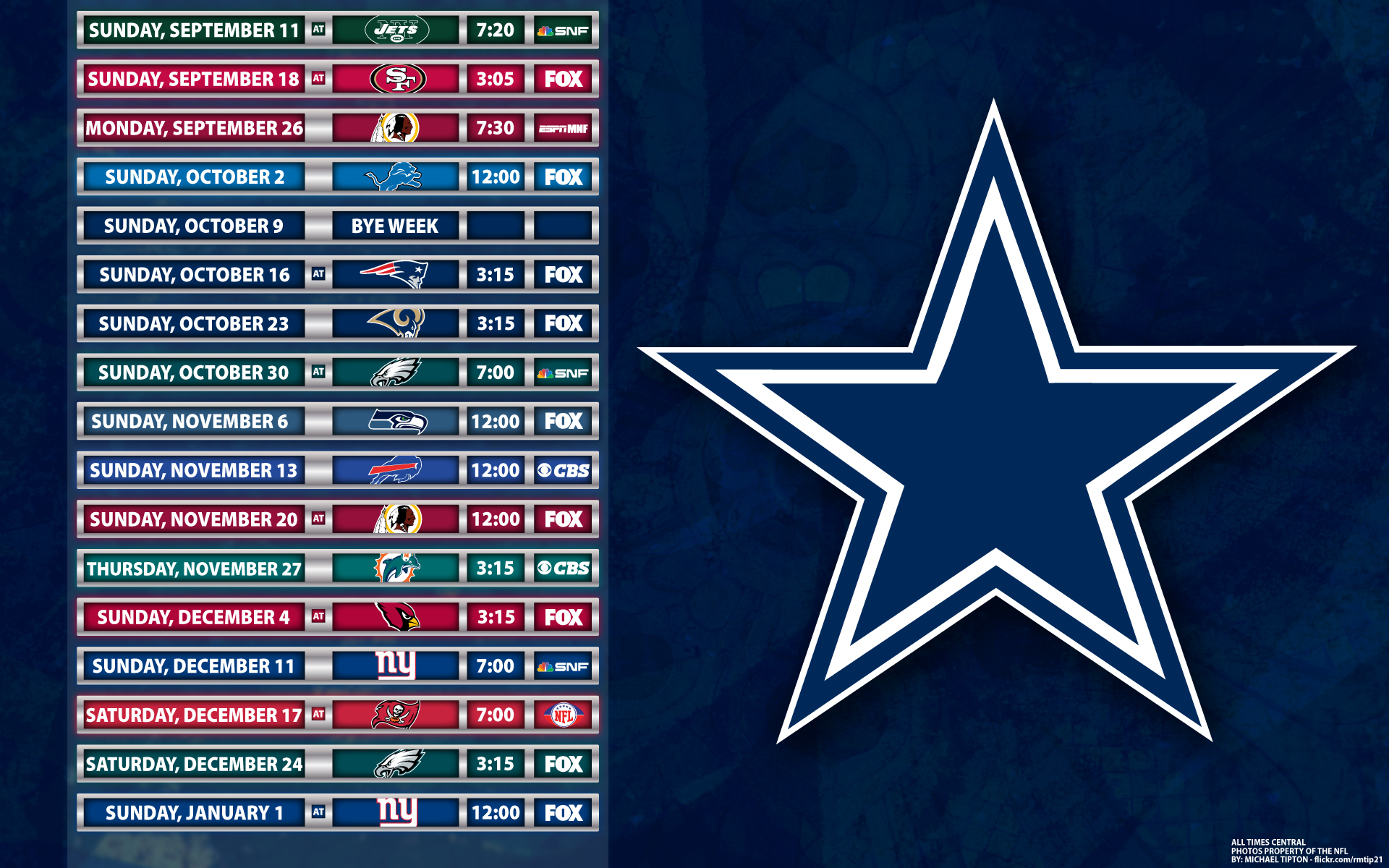 Dallas Cowboys 1920x1200