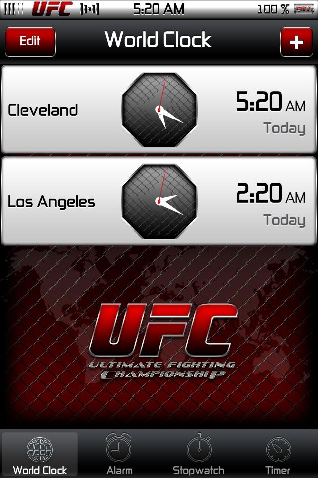 UFC HD iPad theme   Technology iPad Themes Winterboard Themes 640x960