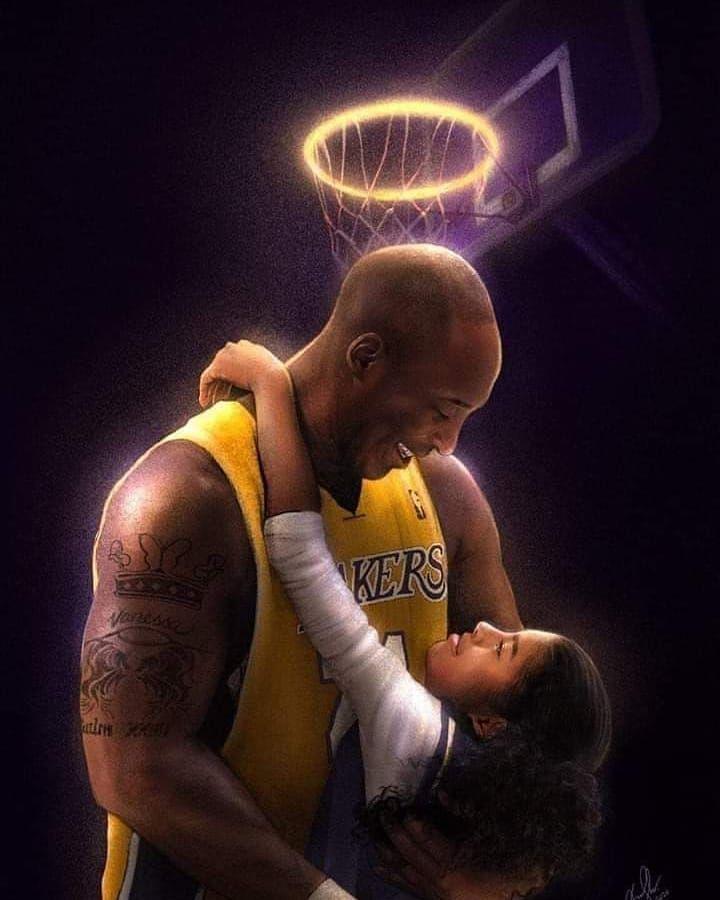 Artists around the world immortalize Kobe and Gianna Bryant Kobe 720x900