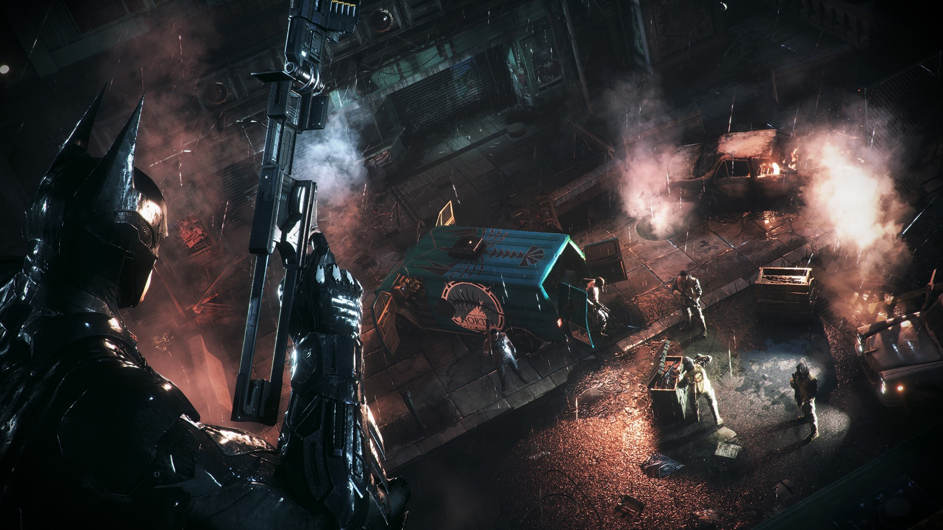 Arkham Knight Killing Batman Wallpaper Batman and Catwoman Wallpaper 1920x1080