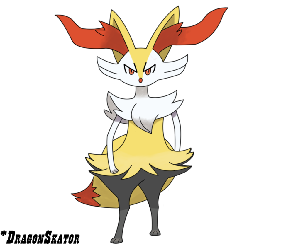 Braixen by DragonSkator 958x833