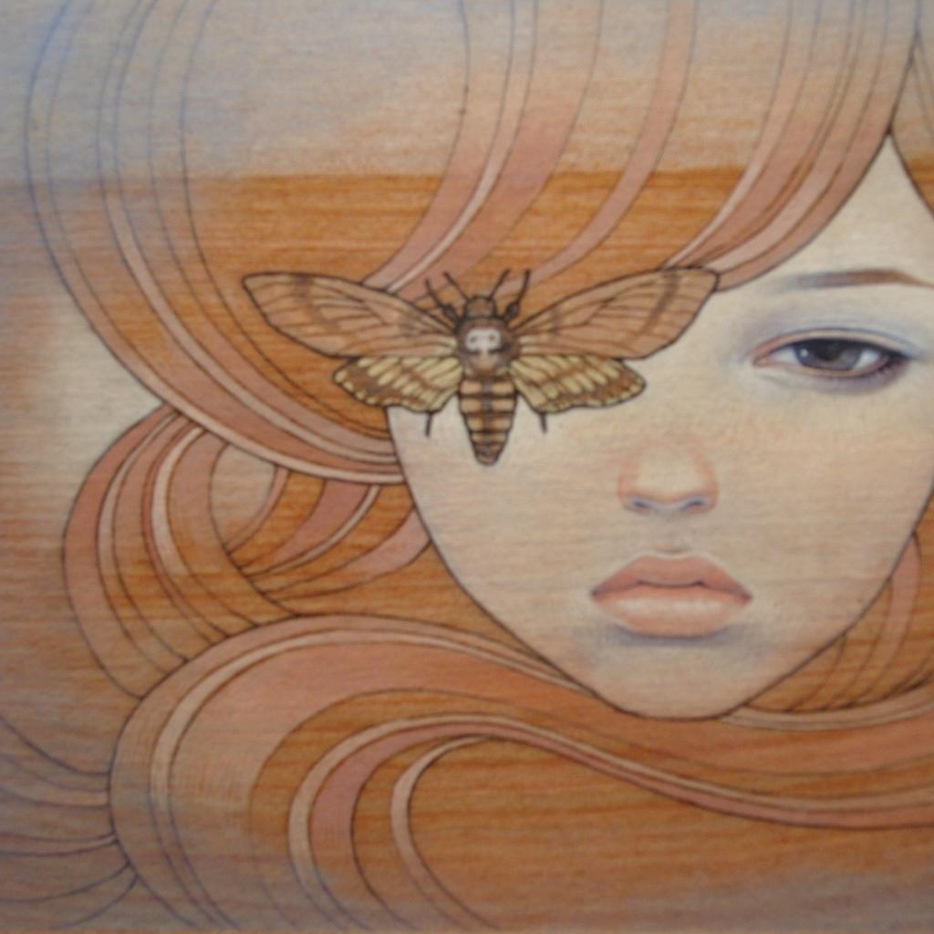 audrey kawasaki 2592x1944 wallpaper Art HD WallpaperHi Res Art 1024x1024