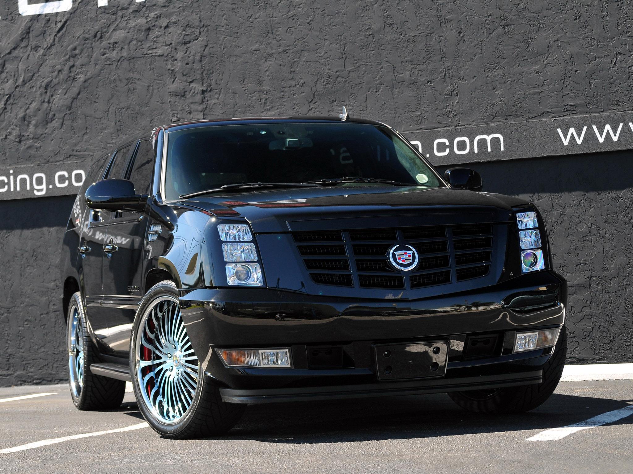 2010 MCP Racing Cadillac Escalade suv tuning luxury wallpaper 2048x1536