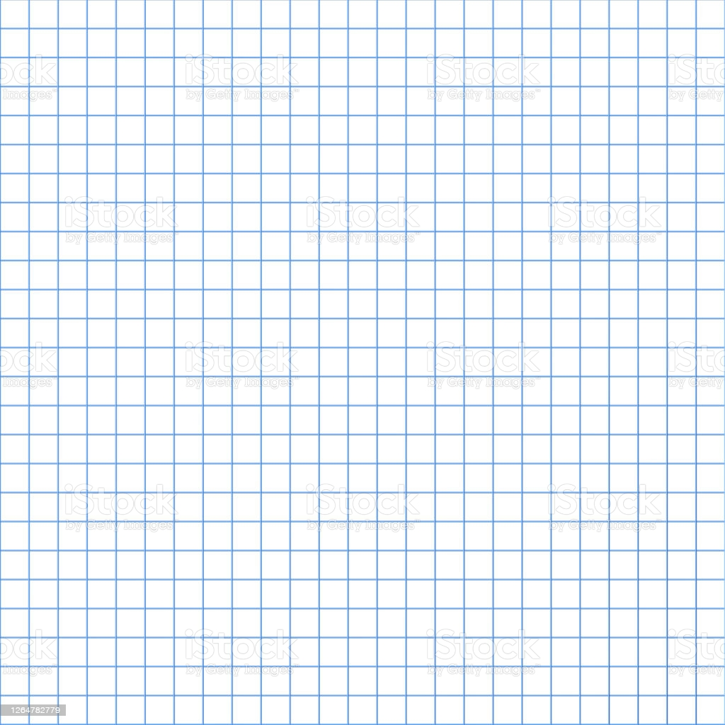 Grid Paper Abstract Squared Background With Blue Graph Geometric 1024x1024