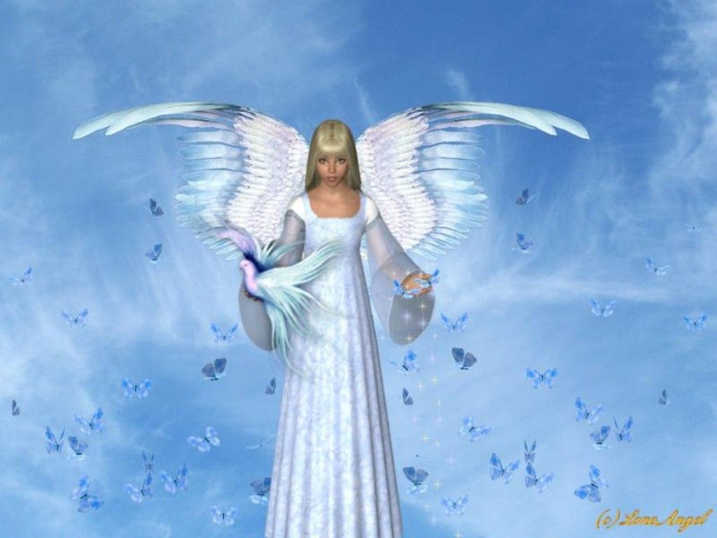 Radical Pagan Philosopher Angels Wallpaper Angel Backgrounds Twitter 1024x768