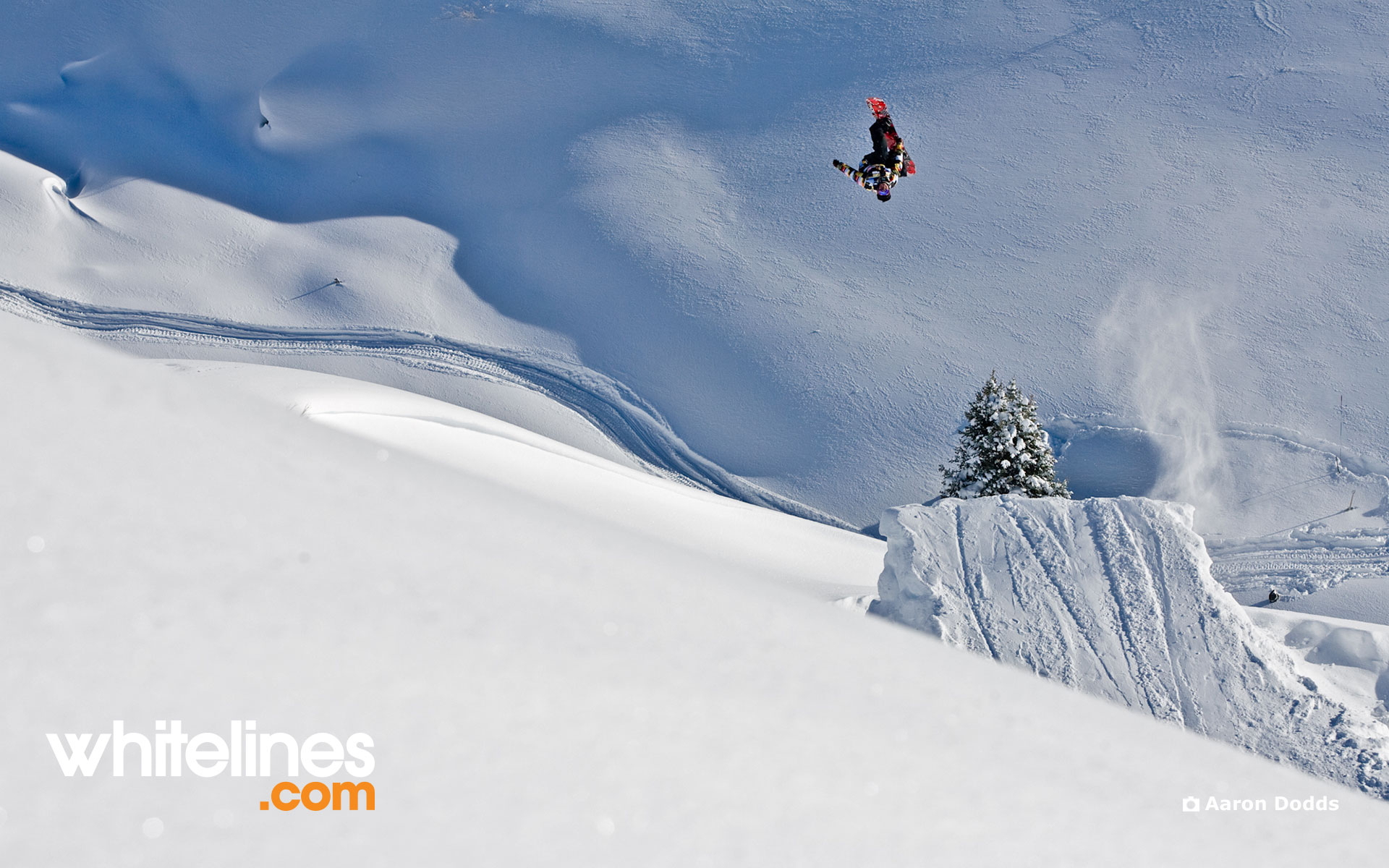 Snowboard Wallpaper   Kevin Jones gets inverted in Jackson Hole 1920x1200