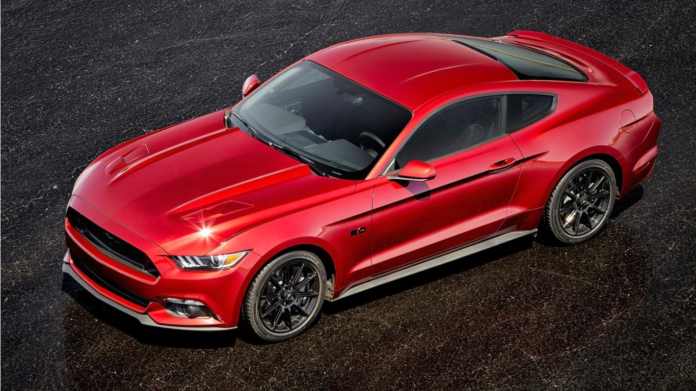 2016 Ford Mustang GT Wallpaper HD Car Wallpapers 1366x768